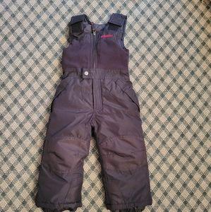 2/$15 Snowpants Bibs Size 3T Snozu